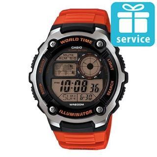 【CASIO】10年電力世界時間運動錶(AE-2100W-4A)
