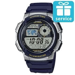 【CASIO】世界城市野外風格概念錶(AE-1000W-2A)
