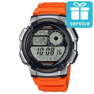 【CASIO】世界城市野外風格概念錶(AE-1000W-4B)