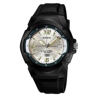 【CASIO】經典前衛設計螢光腕錶(MW-600F-7A)