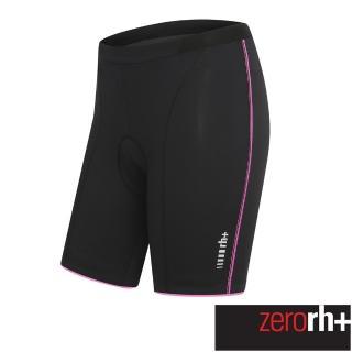 ~ZeroRH ~義大利MIRAGE 自行車褲~女款^(黑 白款、全黑、黑 粉 ECD02