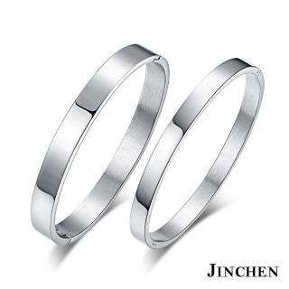 【JINCHEN】316L鈦鋼情侶手環一對價TCP-01(相戀一世手環/情侶飾品/情人對手環)