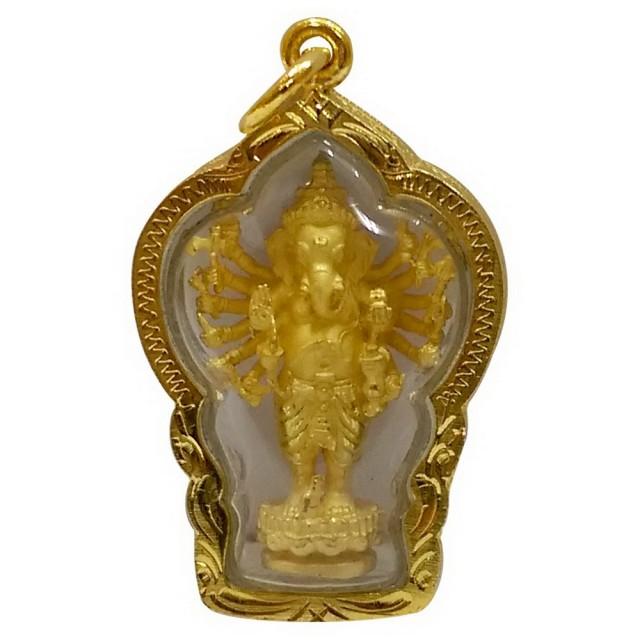 【十相自在】4公分 小佛像/法像 佛龕掛墜吊飾(象鼻神)