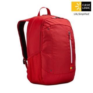 【美國Case Logic】雙肩15.6吋/10.1吋平板電腦後背包(WMBP-115跑車紅色)