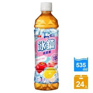 【泰山】冰鎮水果茶PET535ml(24瓶/箱)  泰山