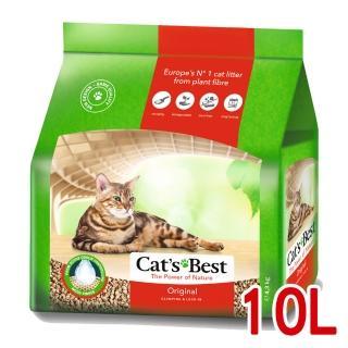 【德國凱優CAT'S BEST】凝結木屑砂-紅標(10LX1包)