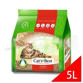【德國凱優CAT'S BEST】凝結木屑砂-紅標(5LX1包)