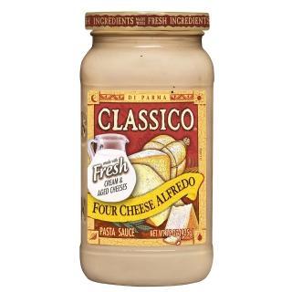 【Classico】義大利麵醬-四種起司白醬(425g)