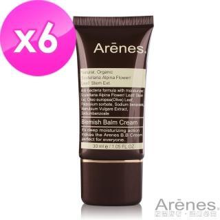 【Arenes】天然礦物防水柔焦粉底液30ml(共6入)