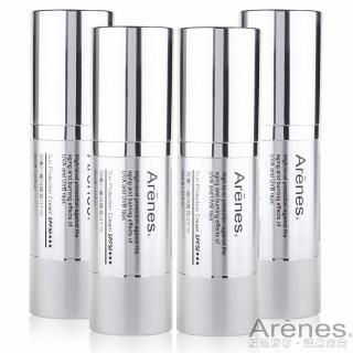 【Arenes】潤膚防曬隔離霜SPF50(共4入)
