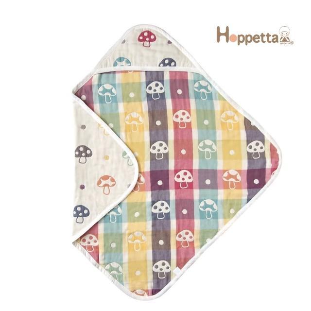 【Hoppetta】六層紗蘑菇包巾(方型)