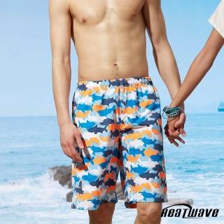 【Heatwave 熱浪】男海灘褲-海洋鯊(A200)