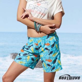【Heatwave 熱浪】女海灘褲-彩游魚(C51)