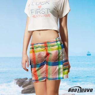 【Heatwave 熱浪】女海灘褲-格彩紋(C52)