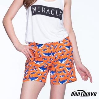 【Heatwave 熱浪】女海灘褲-橘陽鯊(C58)