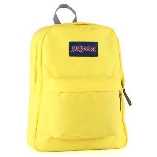 【JanSport】校園背包-SUPER BREAK(高調黃)
