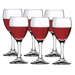 【土耳其Pasabahce】高腳紅酒杯250cc(六入組)