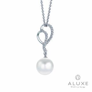 【A-LUXE 亞立詩】寵愛系列8-8.5mm 天然淡水養珠珍珠項鍊