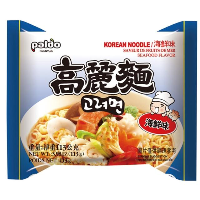 【PALDO】高麗海鮮麵(韓國原裝進口泡麵)