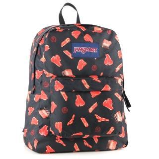 【JanSport】校園背包-SUPER BREAK(肉食主義)