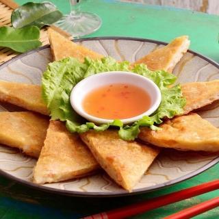 【鮮食家任選799】泰Yummi 月亮蝦餅-原味(240g/包)