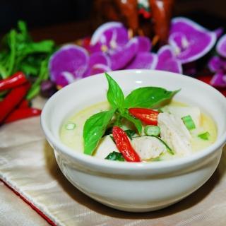 【鮮食家任選799】泰Yummi 綠咖哩椰汁雞肉(260g/包)