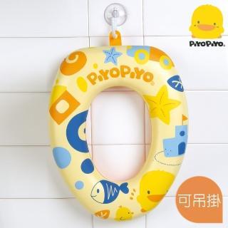 【黃色小鴨piyopiyo】馬桶輔助便座(學習馬桶軟墊)