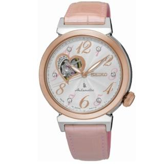 【SEIKO LK】時尚品味機械女腕錶(玫瑰金/4R38-01C0P)