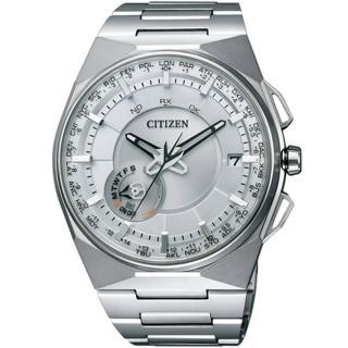 【CITIZEN 星辰】Eco-Drive 探索先驅衛星對時鈦金屬腕錶(CC2001-57A)