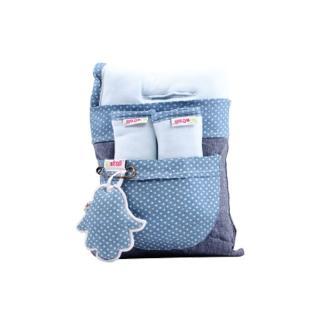 【Minene】寶寶座墊及安全帶護套兩件組(透氣舒適)