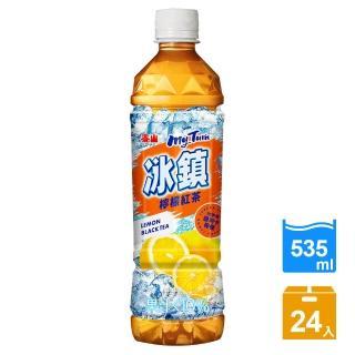 【泰山】冰鎮紅茶PET535ml(24瓶/箱)