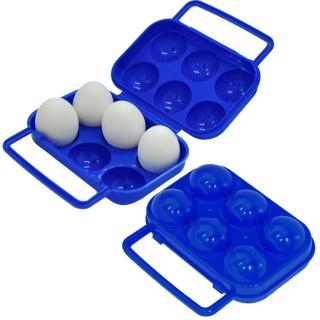 【迪伯特DIBOTE】出便攜蛋盒/雞蛋收納盒-6顆裝(2入組)