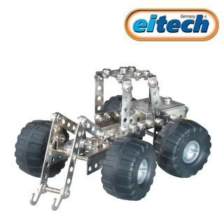 【德國eitech】益智鋼鐵玩具-2合1挖土機(C84)