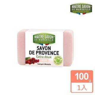 【法國 玫翠思】普羅旺斯植物皂100g(玫瑰)
