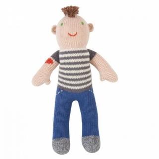 【美國 Blabla Kids】手做純棉針織娃娃18吋 - 搖滾男孩 Rocker Otto(TM150701010)