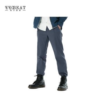 【OFFBEAT】男款Anti-UV俐落彈性休閒長褲(漸層藍)