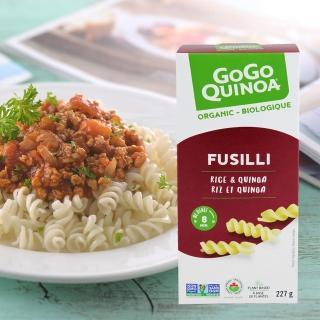 【Gogo Quinoa】有機義大利麵-螺旋麵(227g)