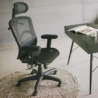 【樂活主義】全片式氣墊腰靠透氣網椅/辦公椅/電腦椅(台灣製專利認證)