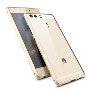 【GINMIC】亮劍系列 華為 HUAWEI P9 鋁合金邊框+透明背蓋 保護殼(金屬邊框 手機殼 金屬框)