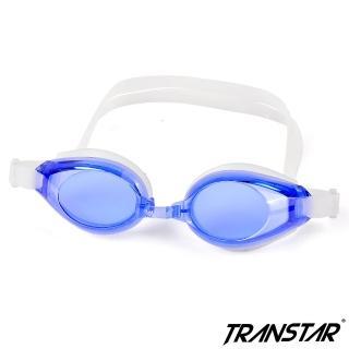 【TRANSTAR 全適達】兒童泳鏡 抗UV六段調扣-防霧純矽膠(3700)