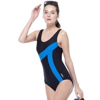 【SARBIS】泡湯SPA大女連身三角泳裝(附泳帽B91635-05)