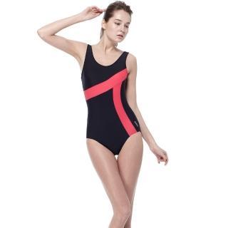 【SARBIS】泡湯SPA大女連身三角泳裝(附泳帽B91635-07)