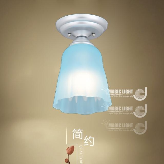 【光的魔法師 Magic Light】布丁吸頂燈|BLUE 藍