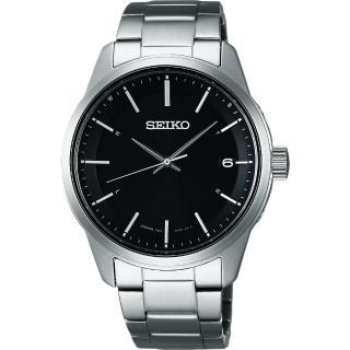【SEIKO】SPIRIT 萬年曆太陽能電波腕錶-黑/40mm(7B24-0BJ0D  SBTM233J)