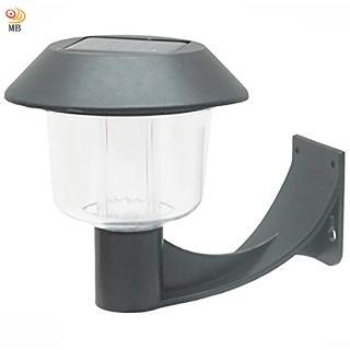 【月陽】彎月型太陽能燈充電自動光控LED庭園燈壁燈(5004C)