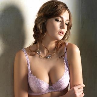 【LADY】天堂花園系列 B-F罩內衣(天堂紫)
