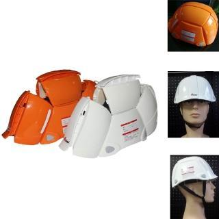 【PUSH! 地震防災相關用品】折疊式安全帽防災帽防災頭盔戶外運動安全帽(加強版 J20一入)