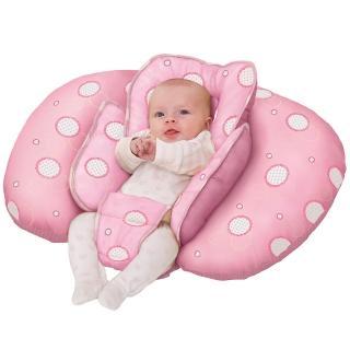 【奇哥 ClevaMama】十合一育嬰枕(粉紅)