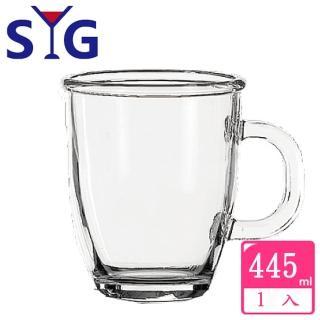 【SYG】透明玻璃拿鐵杯(445cc)