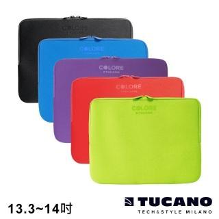 【TUCANO】Colore 多彩時尚筆電防震內袋 13.3-14吋